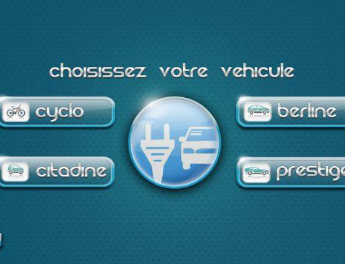 IHM borne de recharge pour véhicules électriques
